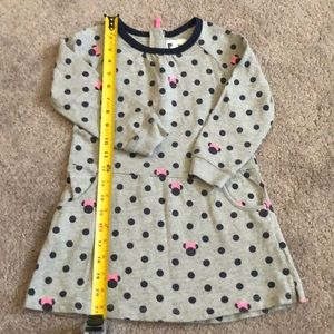 Gap by Disney dress with pockets L/S size 4